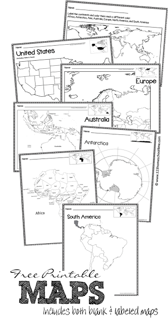 Blank drawing printable. Free maps homeschool me