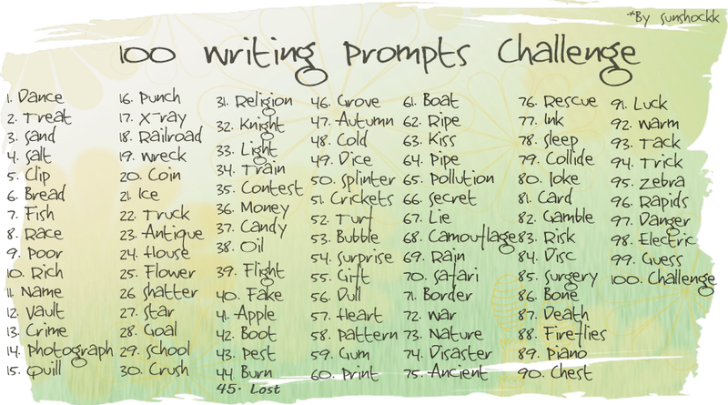 Drawing promt fantasy. Writing prompts challenge