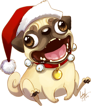 Drawing pug. Must they really portray