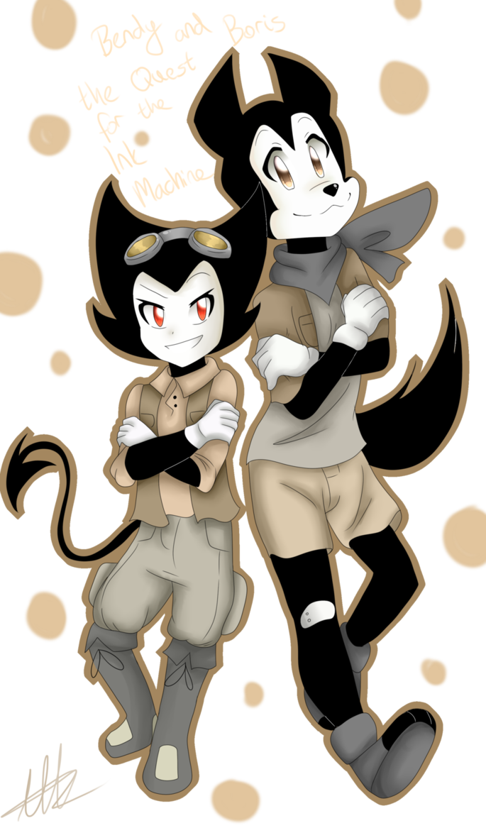 Drawing quest bendy. And boris the for