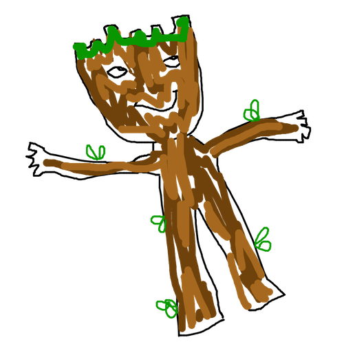 Drawing Raccoon Groot Transparent Png Clipart Free Download Ya