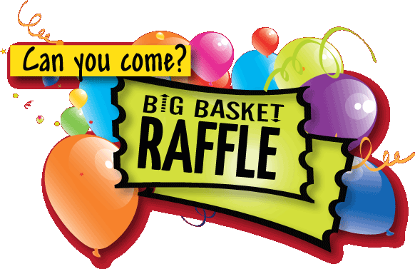 Raffle clipart grand prize. Benefit basket drawing on