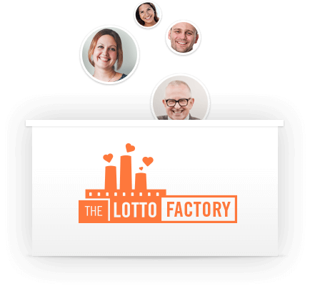 Drawing raffle box design. Tour the lotto factory