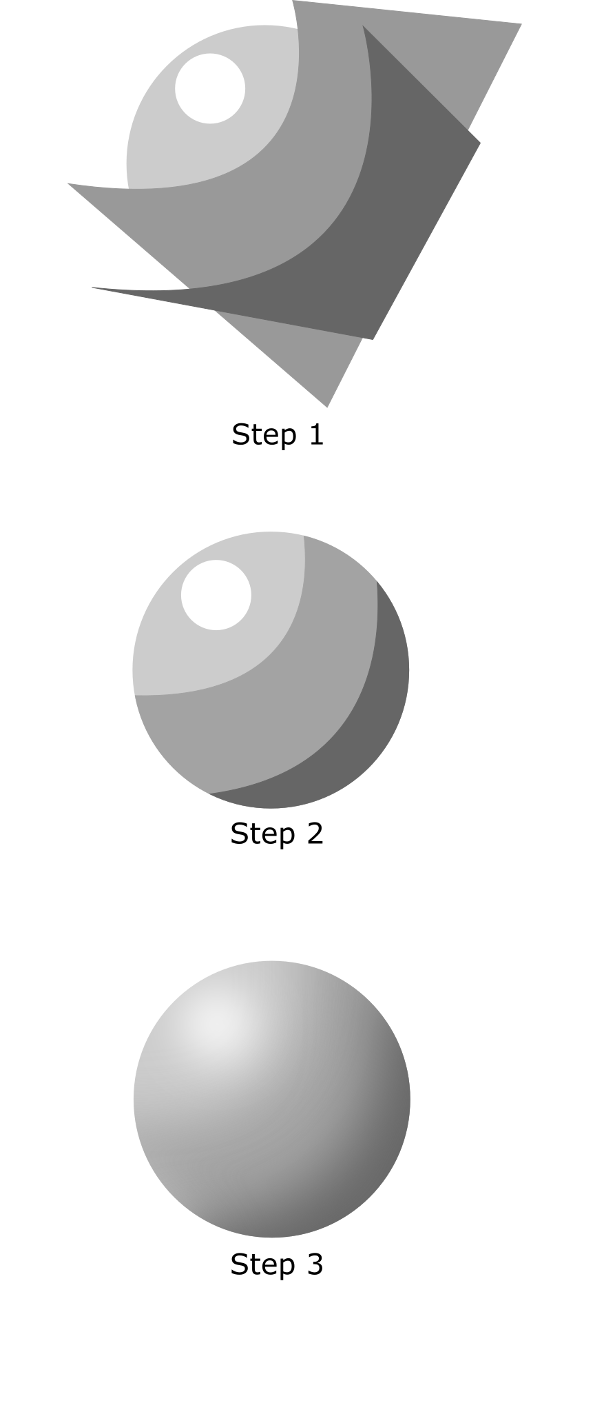 Drawing raindrops shading. Inkscape tutorial by x