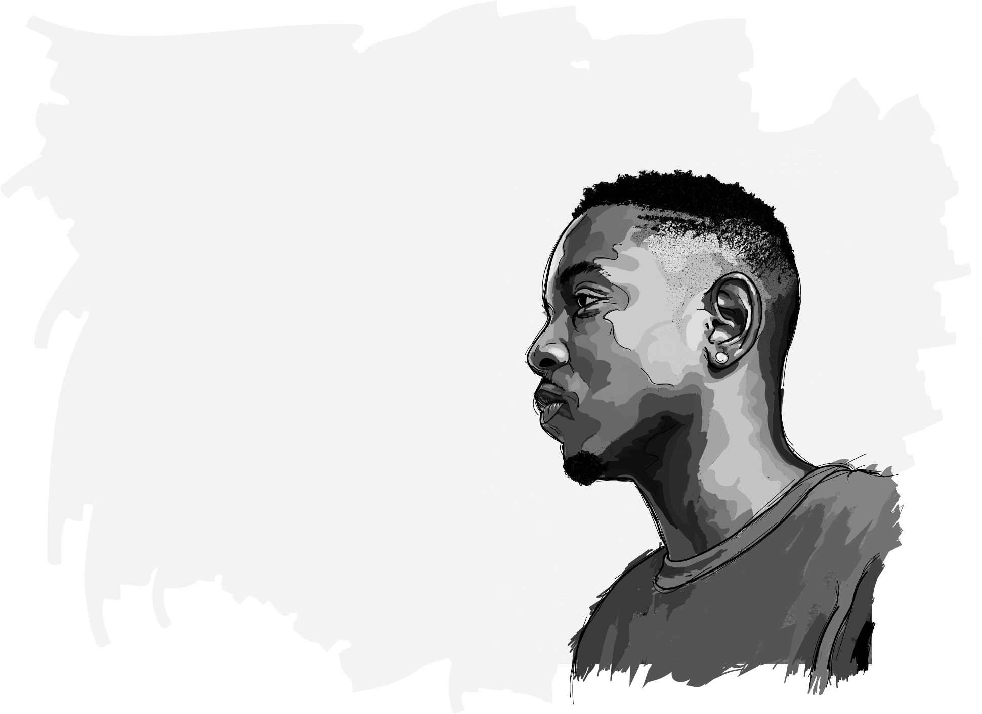rappers drawing bt