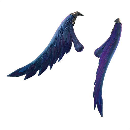 Drawing raven wing. Dark wings back bling