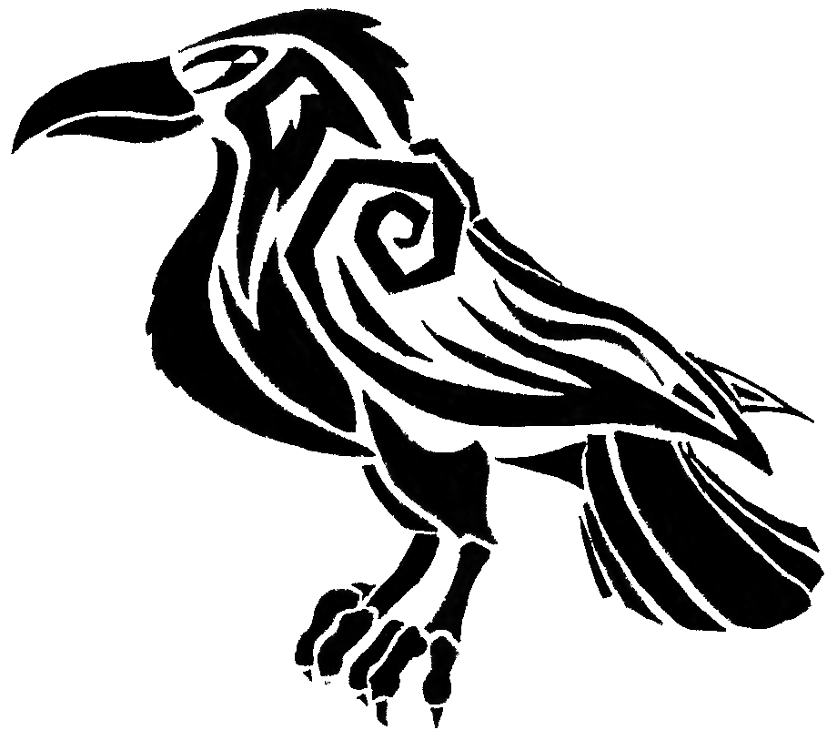 b7128e0f6 Drawing Raven Tribal Transparent & PNG Clipart Free Download - YA ...
