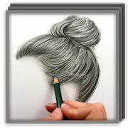Drawing methods realism. Realistic hair apps on