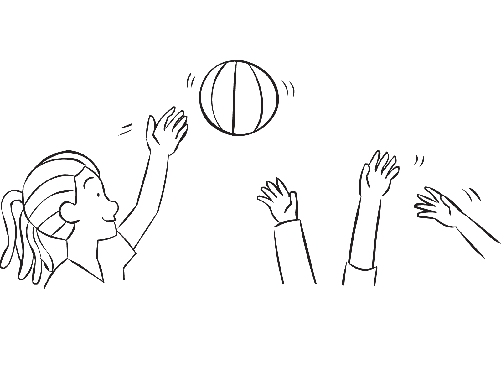 Drawing resources gesture. Moonball all time classic