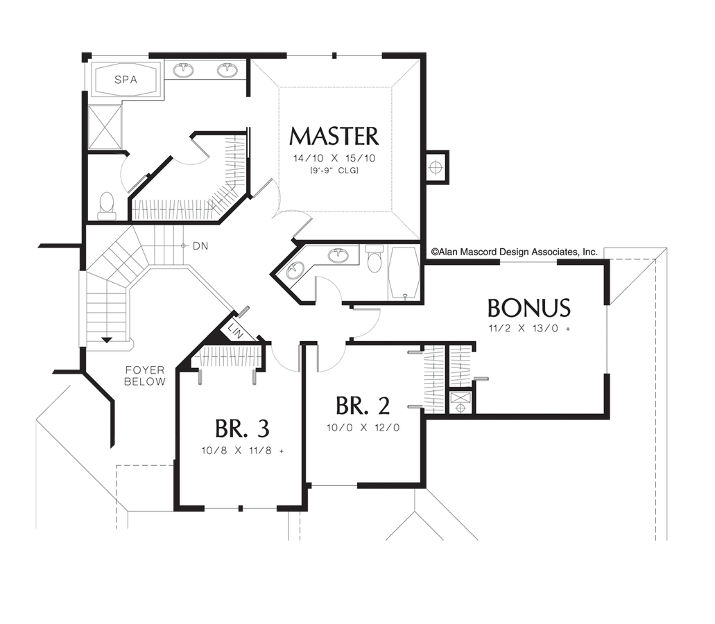 Drawing restrain contemporary. House plan dc the