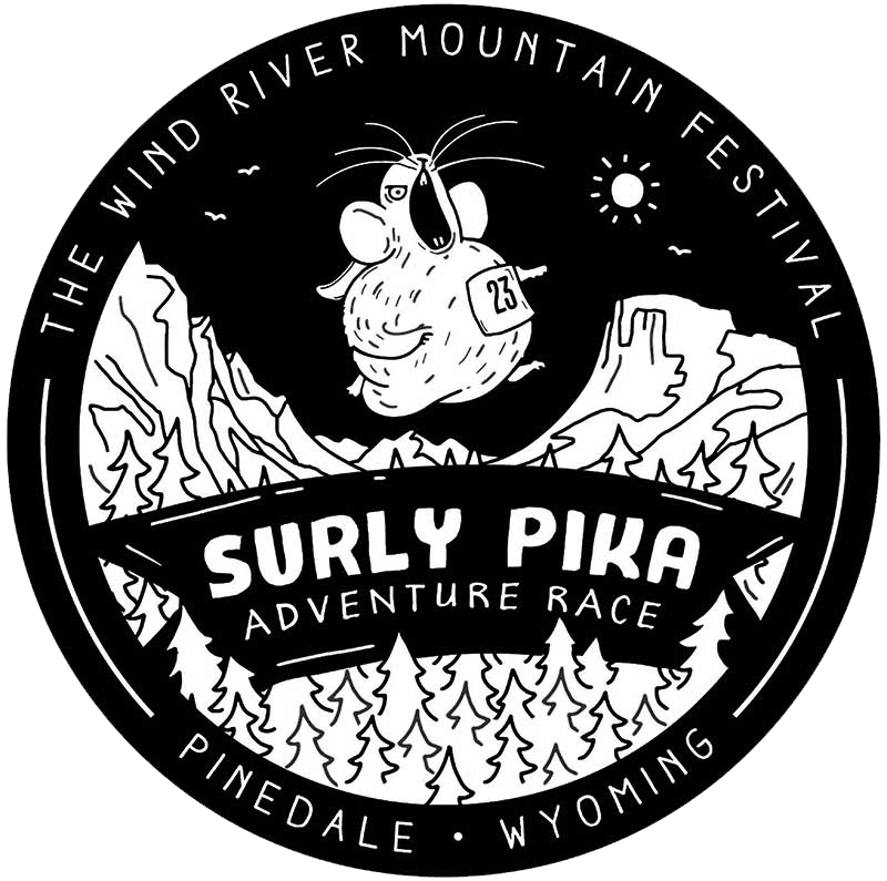 Drawing river mountain. Surly pika adventure race
