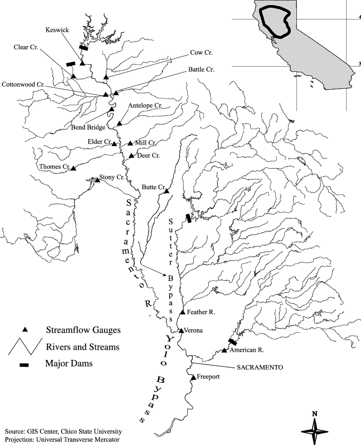Map of sacramento river. Drawing rivers svg freeuse library