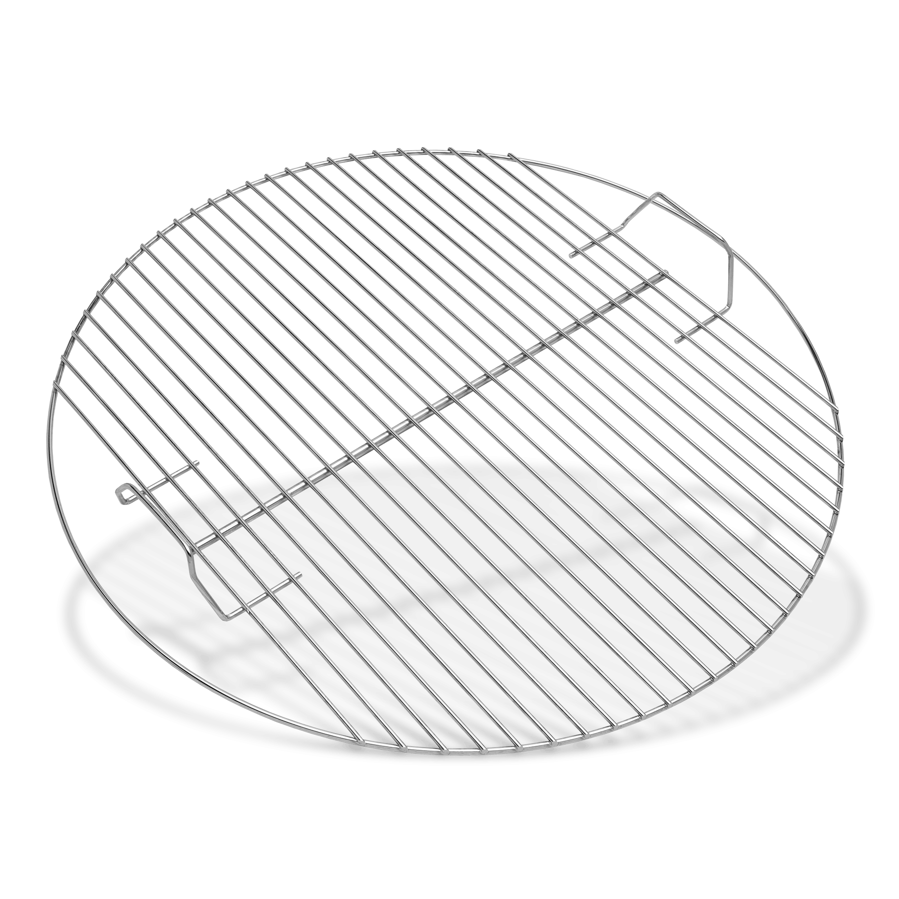 Transparent grill circle. Cooking grate us fits