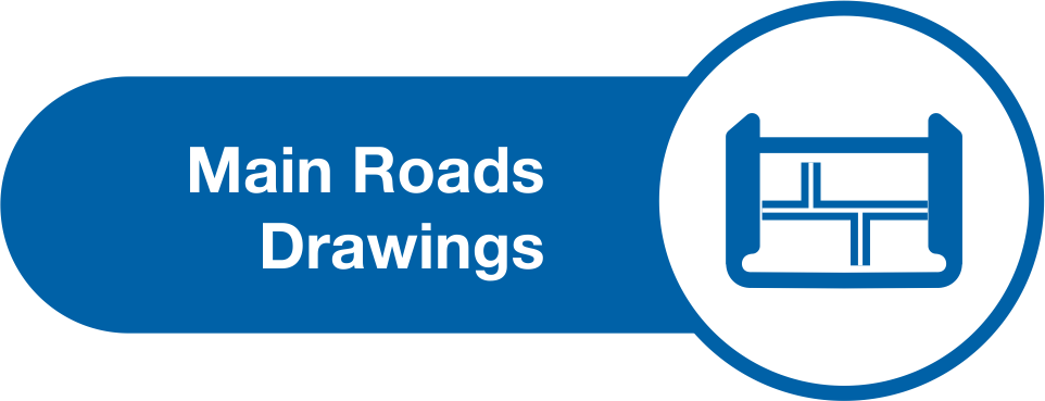 Drawing road freeway. Standards and technical image
