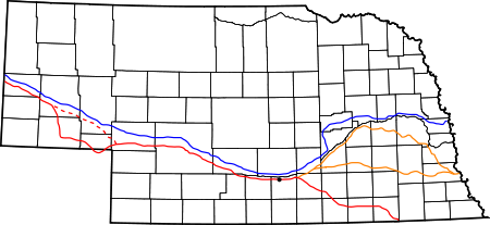 Drawing road river. Great platte wikipedia