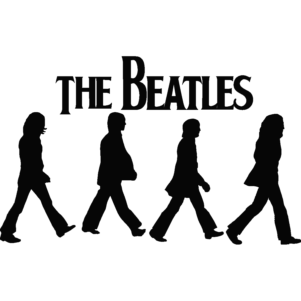 Road svg silhouette. Images for beatles abbey svg royalty free library