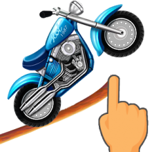 Draw hill climb moto. Drawing roads endless road clip art black and white
