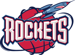 Drawing rockets emblem. Nba logo vectors free