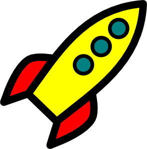Drawing rockets missile. Rocket clip art at