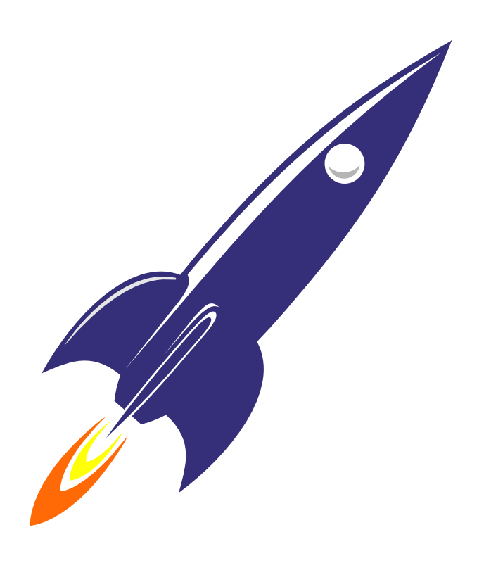 Drawing rockets realistic. R is for rocket