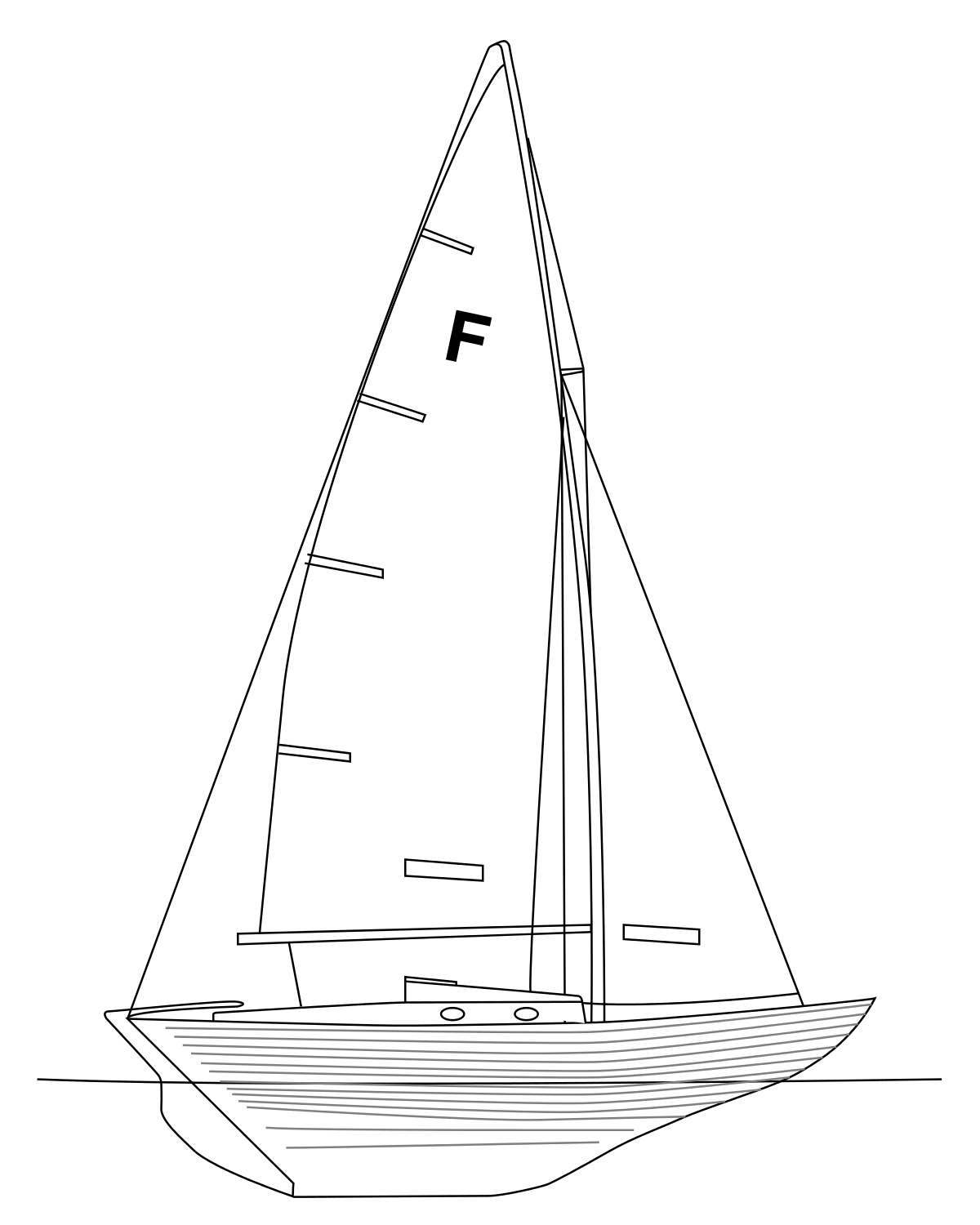 Drawing sailboats. Nordic folkboat wikipedia