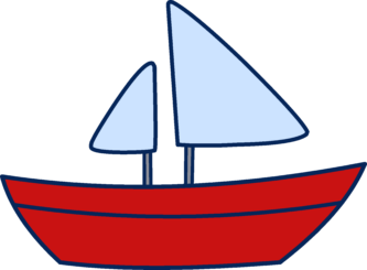 Drawing sailboats comic. Pictures of cartoon boats