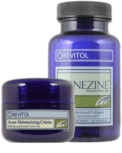 Drawing sav pimple. Revitol acnezine is a