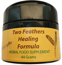 Drawing sauve breast cancer. Two feathers healing formula