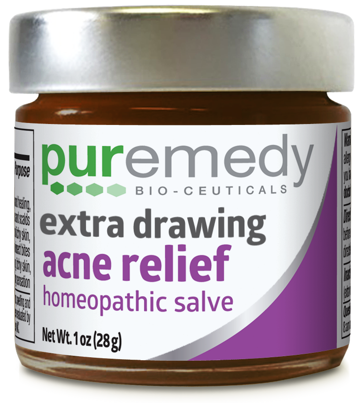 Drawing sauve red. Extra acne relief oz