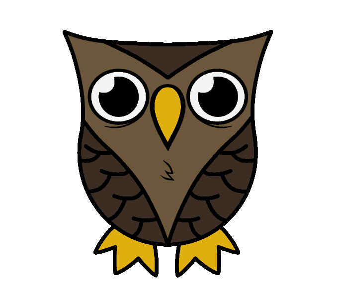 Drawing scary. Owl at getdrawings com
