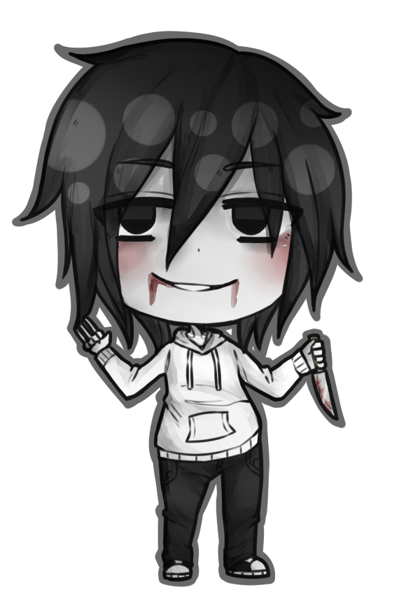 Killer drawing crazy. Chibi jeff the by