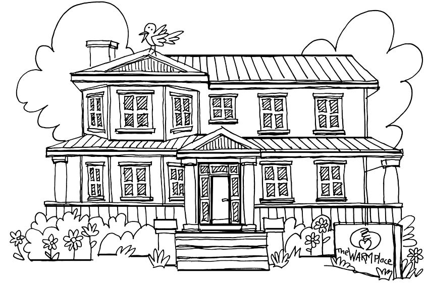 Drawing scary perspective. House picture at getdrawings