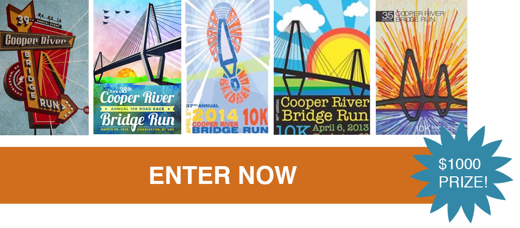 Drawing science competition. Cooper river bridge run