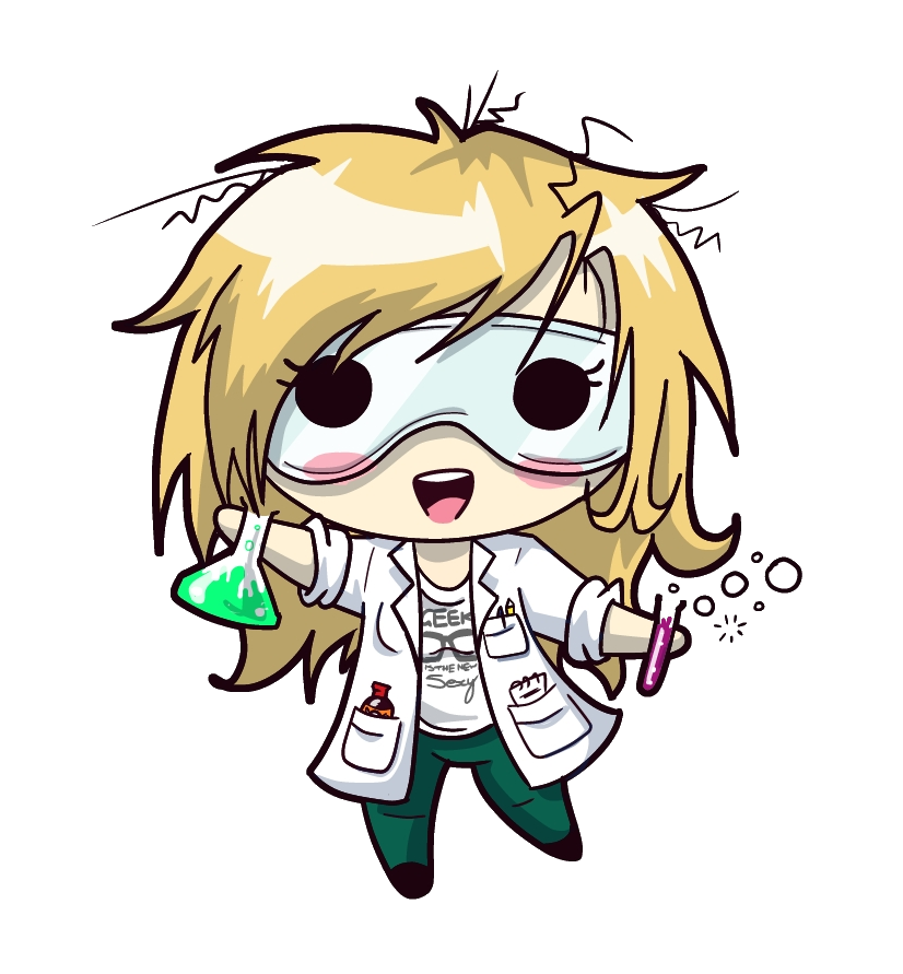 Drawing science scientist. Squishy rachel by jammyscribbler