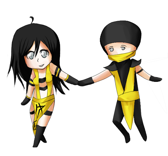 Drawing scorpion anime. Chibi cm for lover