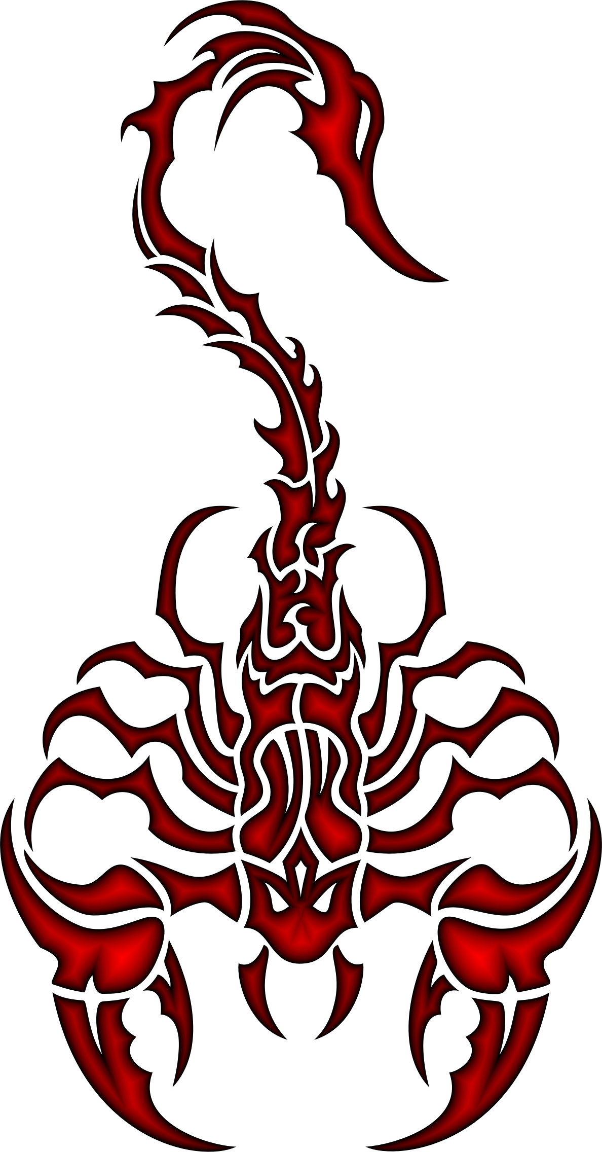 Drawing scorpion color. Best of scorpions clip