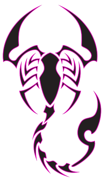 Drawing scorpions. Tribal scorpion tattoo related