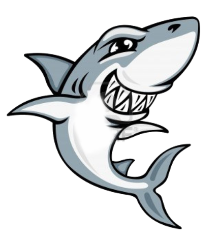 Vector sharks shark face. Make this amazing design