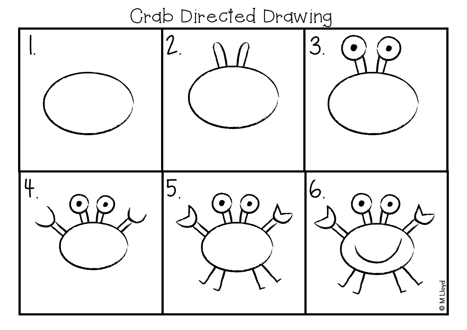 Drawing frogs directed. Ant for free