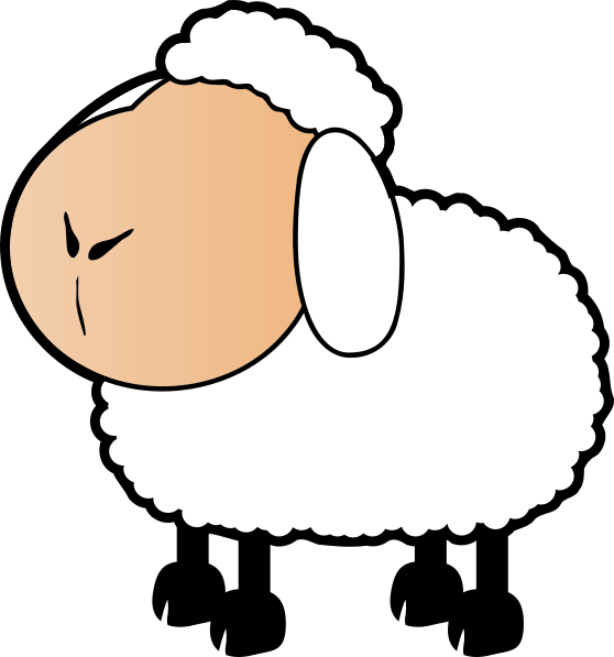 Sheep clipart colored sheep. Collection of free download