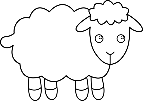Drawing sheep easy. Collection of free heep