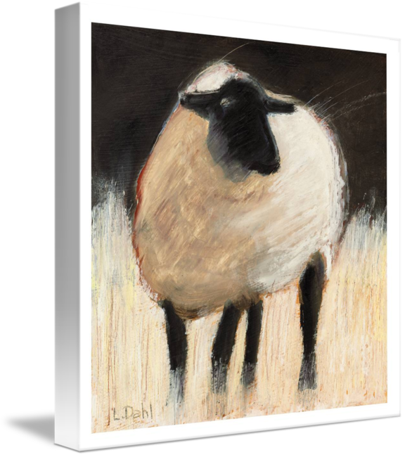 Drawing sheep suffolk. By lois dahl in