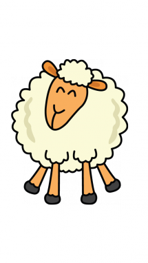 Drawing sheep. How to draw a
