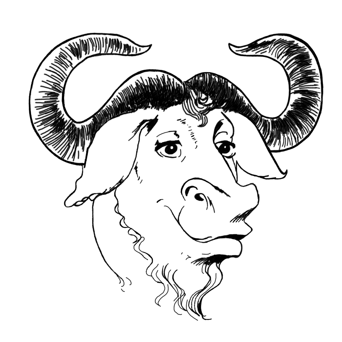 Drawing technology bad. How to use gnu