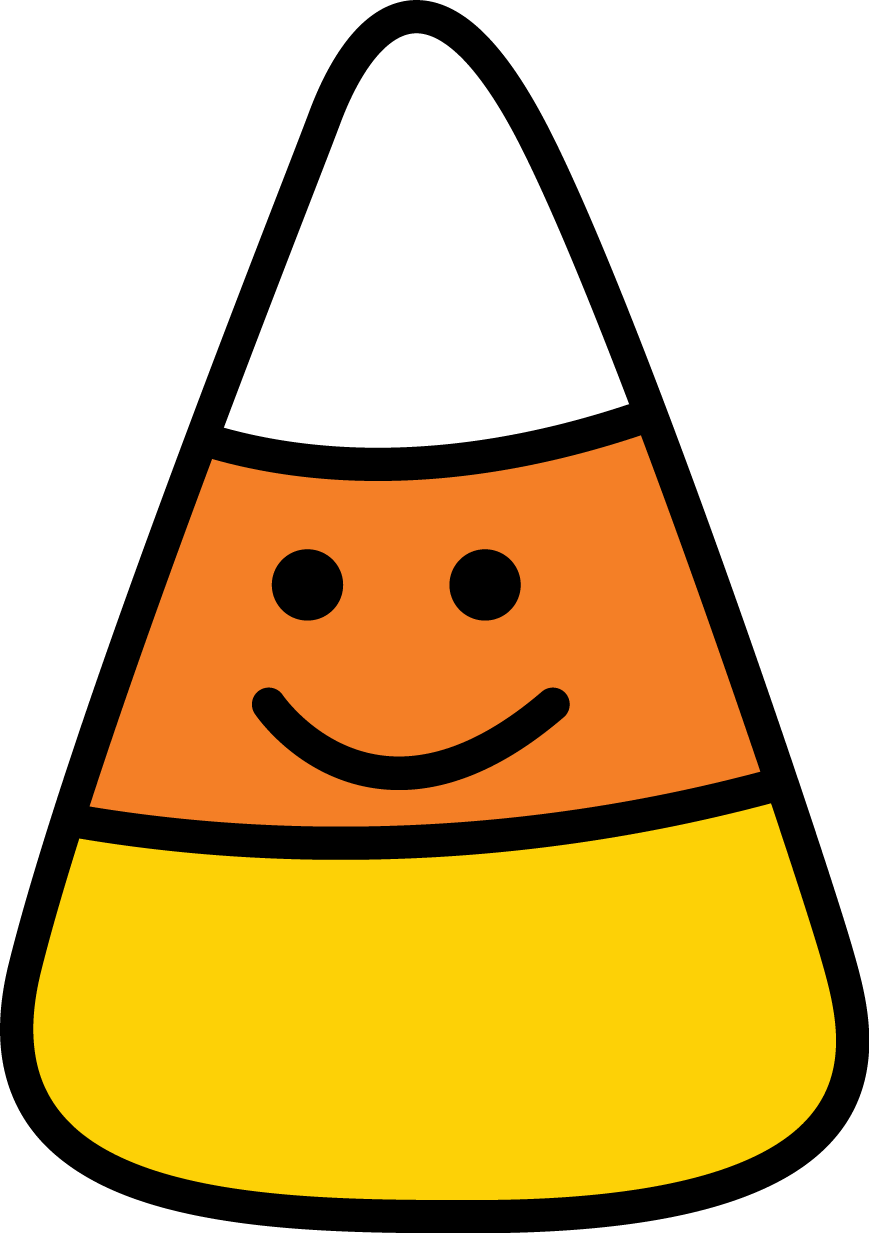 Drawing shopkins candy corn. Halloween png minus clipart