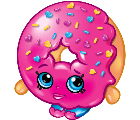Drawing shopkins donut. Collection of clipart