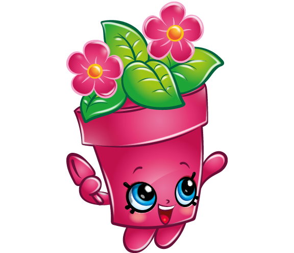Drawing shopkins perfume. Paint your own pot