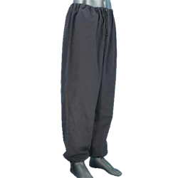 Drawing shorts baggy clothes. Men s pants breeches