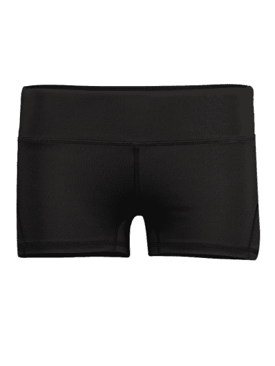 Drawing shorts leather. Workout for women gym