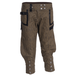 Drawing shorts leather. Women s steampunk pants
